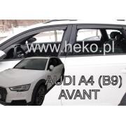 Deflektory komplet 4 ks - Audi A4 (B9) Avant / Allroad, 2016-
