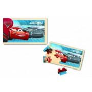 Cars 3- Puzzle din lemn, 15 piese