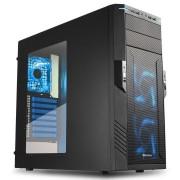 Sharkoon CAJA ATX T28 USB 3.0 BLUE