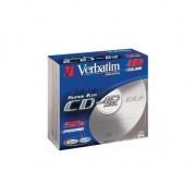Medii de stocare verbatim CD-R / 10 / 800MB Slim 40x Extra Protection