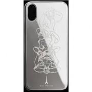 Les Fréres Silver Monkeys iPhone Case