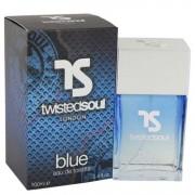 Twisted Soul Blue Eau De Toilette Spray 3.4 oz / 100.55 mL Men's Fragrance 541638