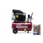 Compresor EUROAIR 220/8/24 W set