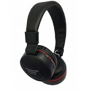 Vinimox 771 Wireless Stereo Sound Bluetooth Over the Head Headphone with FM and Micro SD for Laptop PC Mobile