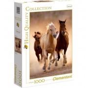 Puzzle 1000 Piezas Caballos Corriendo - Clementoni