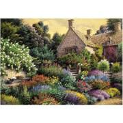 Puzzle Art Puzzle - Cottage and Colorful Garden, 1500 piese (Art-Puzzle-4541)
