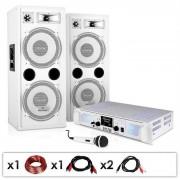 Set PA ''DJ 22'' amplificatore casse microfono 1000W