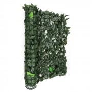 Fency Dark Ivy Cerca de protecção de privacidade e para-ventos 300x100 cm verde escuro mix