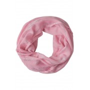 Colsjaal met glinsterprint - soft rose