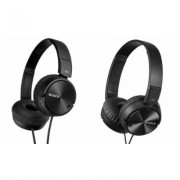 Sony - MDRZX110NC Noise-Cancelling Headphones Black New Noise Cancelling
