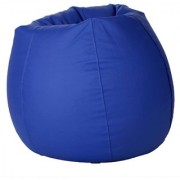 Ink Craft Blue Hi-Back Gamer Bean Bag Chair Cover Only - XXL