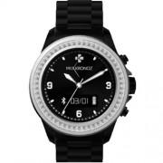 Ceas Bluetooth MyKronoz Zeclock Swarovski smartwatch black