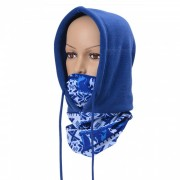 Polar mascara de cabeza caliente para ciclismo al aire libre - azul