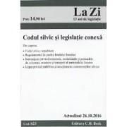 Codul silvic si legislatie conexa. Actualizat 26.10.2016