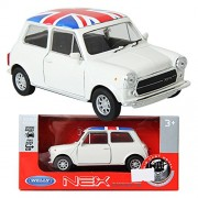 WELLY 1:34 Mini Cooper 1300U-F / Ivory / Toy / DIE-CAST Toy Model cars
