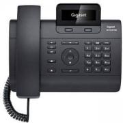 Телефон VoIP GIGASET DE310 IP PRO, 2 линии, Черен, 1010045