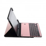 Shop4 - iPad Pro 10.5 Toetsenbord Hoes - Bluetooth Keyboard Cover Business Rosé Goud