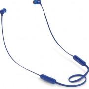 Casti in ear JBL T110BT, bluetooth, microfon, albastru