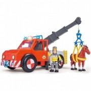 Masina de pompieri Sam Fireman cu figurina, cal si accesorii
