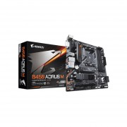 T Madre Gigabyte B450 AORUS M ChipSet AMD B450 Soporta AMD Ryzen
