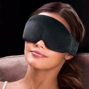 Cabeau Schlafmaske Midnight Magic, 68 cm, mit Soft-Ohrstöpseln, schwarz