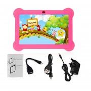 Q88 Con Pantalla Táctil De 7 Pulgadas Niños Tablet 512 MB +8GB UK El Tapón Elástico Rojo Regalo De Cumpleaños