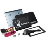 Kingston Disco SSD Interno KINGSTON KC600 UpKit (256 GB - SATA - 550 MB/s)