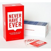 Never Have I Ever, the Game of Poor Life Decisions - Only Get this Card Game if You Want Tears Runni