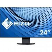 EIZO LCD monitor EIZO EV2451-BK noir, 60.5 cm (23.8 palec),1920 x 1080 px 5 ms, AH-IPS LCD DisplayPort, DVI, HDMI™, VGA, audio, stereo (jack 3,5 mm), USB 3