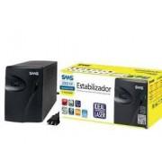 Estabilizador SMS 16217 Progressive III 2000Va Entrada E Saida Monovolt 115V com 4 Tomadas - Ideal Para Impressoras Laser de 40 À 80 PPM