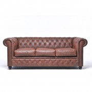 The Chesterfield Brand Original Chesterfield Vintage Brown 3-seater