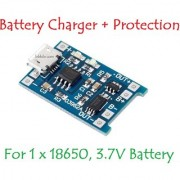 E116 TP4056 1A Li-Ion Battery Charging Board Micro USB with Current Protection