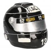 Geen Spaarpot zwarte race helm