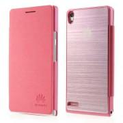 Калъф за Huawei Ascend P6 - розов