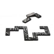 Gra domino - klasyczne, czarno białe domino, gra towarzyska, DJECO DJ05229