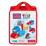 Mega Bloks Primele Cuburi de Construit Vehicule