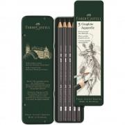 Set creion grafit FABER-CASTELL Aquarelle, 5 buc/set