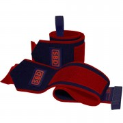 SBD Apparel SBD Wrist Wraps L (1 m) Navy/Red