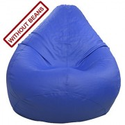 Home Berry Bean bag Cover without beans in solid color (Blue/Red/Brown/Black)