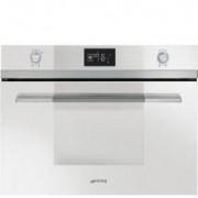 Smeg 45cm Linea Steam Oven, Ice-White Glass - SF4120VCB