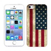 Husa iPhone 5S iPhone 5 Silicon Gel Tpu Model USA Flag