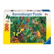 Puzzle Jungla, 300 piese, RAVENSBURGER Puzzle Copii