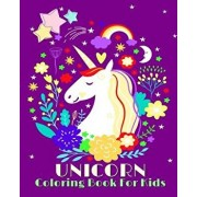 Unicorn Coloring Book for Kids: Jumbo Coloring Book and Activity Book in One (Mazes, Dot to Dot, Counting, Find the Differences, Find Two Same Picture, Paperback/Cute Unicorn