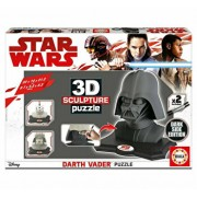 Puzzle 3D Sculptura Darth Vader - Black Side Edition, 160 piese