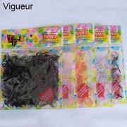 AliExpress 2 PACK Totaal 800 STKS 1 CM TPU Haarband elastische voor Haaraccessoires Vrouwen Kinderen Rubber Silicone Bands Tie gom