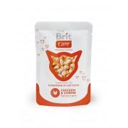 Hrana umeda pentru pisici Brit Care Cat cu Pui si Branza, 80 g