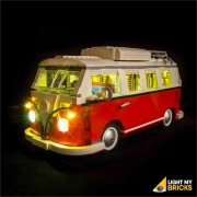 LIGHT MY BRICKS Kit for 10220 VW T1 Campervan