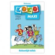 Lobbes Maxi Loco - Rekentijd, tafels groep 4 (7-9)