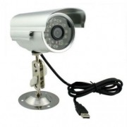 Camera de supraveghere cu inregistrare pe card microSD 32GB, interior / exterior