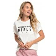Roxy Tricou pentru femei Follow Me To The Beach A Marshmallow ERJZT04516-WBT0 L